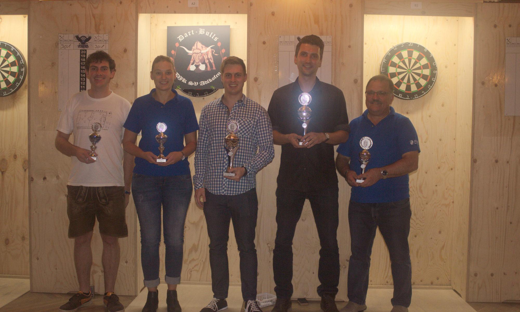 Die Sieger des Turniers 2017